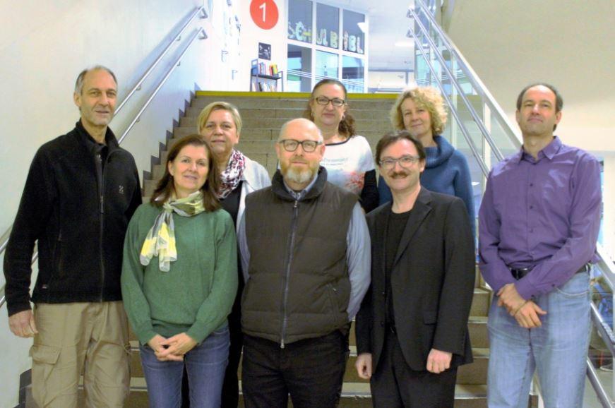 Bild des Vorstands des Elternverein GRg17 Geblergasse